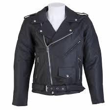 spada cruiser leather jacket black