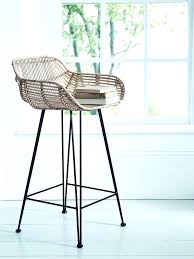 gorgeous design for rattan bar stool ideas best about stools on wooden woven uk