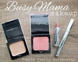 busy mama makeup routine from limelife by alcone simply pretty collection quick makeup for or work minimalist makeup myndistephens