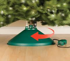 The spinning christmas tree stand is a Christmas that will rotate your so all sides of beautifully decorated are viewable Rotating Tree Stand