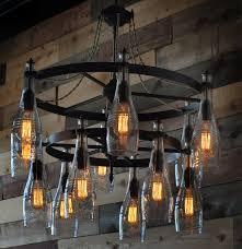 rustic light fixtures chandelier massive rustic wooden beambeam