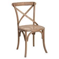 Weathered Oak Furniture Camargue Weathered Oak Dining Chair Oka
