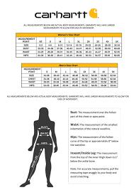 Carhartt Sweatshirt Size Chart Carhartt Womens Slim Fit Nyona Jean