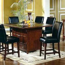 round granite dining table elegant granite dining table set flooding the dining room with elegance