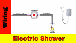 wiring a shower isolator switch wiring diagram options how to wire an electric shower uk wiring a shower isolator switch wiring a shower isolator switch