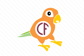 These cuter then life handcrafted gif animal illustrations will engage your audience with their movement and personalities and boost your projects to the next. Parrot Monogram Frame Svg Cut File By Creative Fabrica Crafts Creative Fabrica