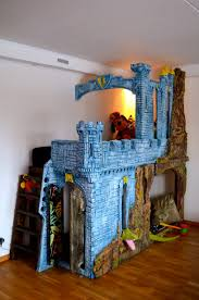 Gothic Castle - kids play space, bed, bunk bed, family bed, all