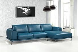 Lovely Turquoise Leather Sofa Nice Sofas Amp Couches Houzz Room
