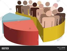 Statistics Symbols Chart Diverse Group Symbol Vector Photo Free Trial Bigstock
