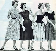 и прически х годов Мода и прически 1950 х годов
