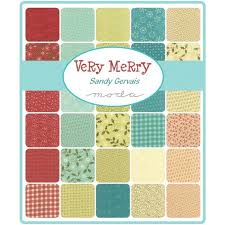 Crazy Quilt Fabric Packs | Blogandmore & Beautiful Crazy Quilt Fabric Packs And Marvelous Ideas Of VERY MERRY By  Sandy Gervais For Moda Adamdwight.com