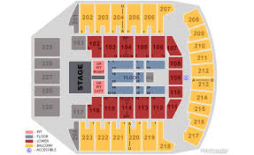 Bismarck Event Center Seating Chart Bismarck Event Center Seating Capacity Elcho Table