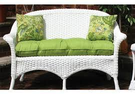 sunbrella fabric wicker loveseat cushion sunbrella fabric wicker loveseat cushion