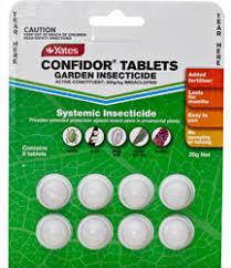 garden insecticide. Yates Confidor Tablets Garden Insecticide