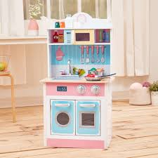 Chef Kitchen Teamson Kids My Little Chef Pastel Small Play Kitchen Reviews