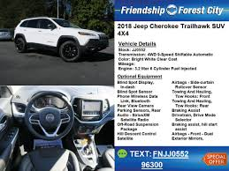 2018 jeep trailhawk colors. brilliant trailhawk 2018 jeep cherokee trailhawk 4x4 trailhawk 4dr suv forest city nc throughout jeep trailhawk colors