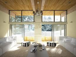 Lemony Modernist Livign Room By Avalokitesvera