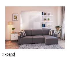 clean murphysofa sectional wall bed expand furniture intended for murphy with sofa ideas furniture
