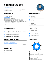 Resume Of Trainer Real Personal Trainer Resume Example Enhancv