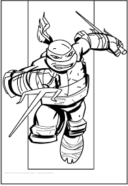 Small Picture Teenage Mutant Ninja Turtles Raphael coloring picture for kids