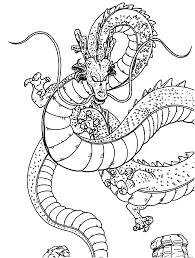 Small Picture Dragon ball z dragon coloring pages online free