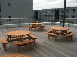 hire round garden tables e timber s lightbox watchthetrailerfo