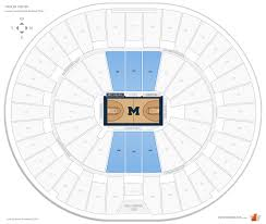 Crisler Center Michigan Seating Guide Rateyourseats Com