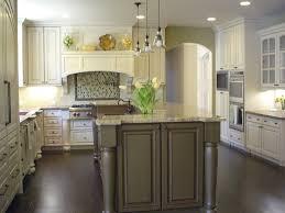 off white kitchen cabinets with dark island models kitchens with white cabinets and dark island la