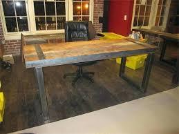 rustic wood office desk. Rustic Office Desk Wood Furniture Home