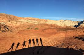 shadow dancers at snow canyon state park photo by linda cabasin