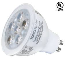 mr16 gu10 led light bulb dimmable 7 5w 75w equivalent energy star ul listed 2700k soft white 40 beam angle 500lm track lighting recessed light