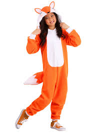 Cozy Wings Size Chart Cozy Fox Costume Kids