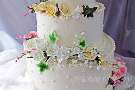 How To Make A Wedding Cake Gretchens Bakery