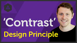 Contrast Principle Of Design Definition Contrast Design Principle Of Graphic Design Ep9 45 Beginners Guide To Graphic Design