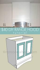 Build Range Hood Remodelaholic Kitchen Renovation And Diy Range Hood Tutorial
