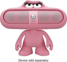 speakers pink. beats by dr. dre - character support stand for pill speakers pink
