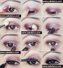 eye makeup step by step in urdu