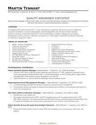 Quality Manager Resume Sample quality manager resume samples Tomadaretodonateco 2
