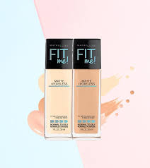 Maybelline Fit Me Matte And Poreless Foundation Review And