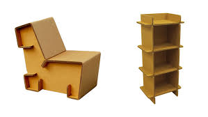 foldable furniture card board furniture