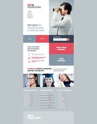 Resume Website Template Job Seekers Website Template 93