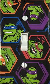 Ninja Turtle Bedroom Decor Teenage Mutant Ninja Turtles Decorative Single Toggle Light Switch