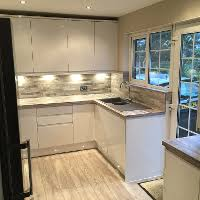 Howdens Kitchen And Floor..worktops And Backboards From Germany