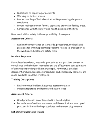 employee training program development sample essay  appropriate equipment 11