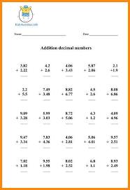 11+ decimal worksheets 5th grade | math cover