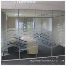 clear office. 8mm Clear/Frosted Tempered/Toughened Glass Wall/Partition In Office/Hotels Clear Office I