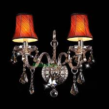 lamp elegant and modern blown murano glass wall sconces with fabric lampshade vintage sconces wall light