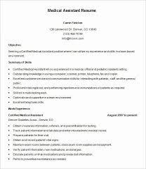 Resume Example Medical Assistant Elegant 5 Medical Assistant