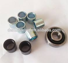 skateboard bearing spacer. multi colored 608 chrome steel bearing spacer skateboard r