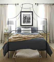 King Wrought Iron Beds With Also Canopy Bed Frame Single And Wood ...